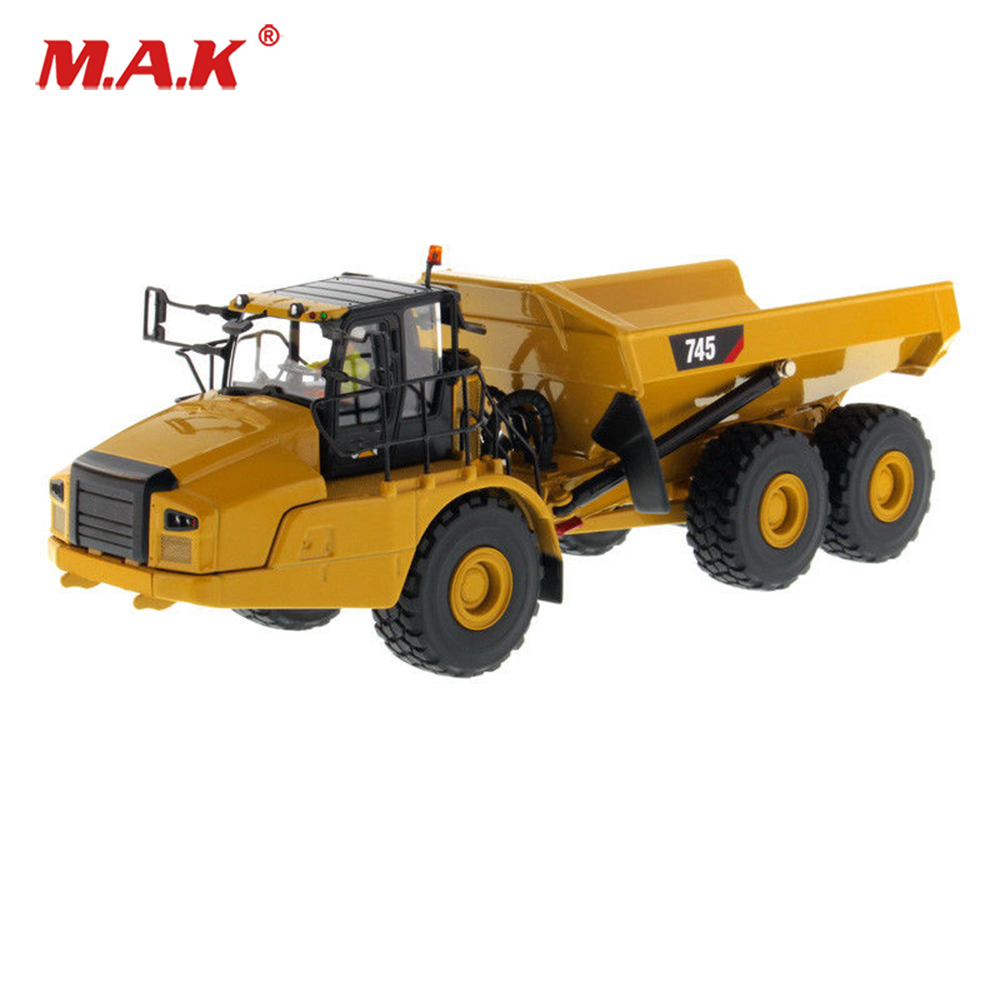 Collection 1:50 Scale 1/50th 745 Articulated Hauler Engineering Vehicles Diecast Model Engineering Vehicles toys for Children