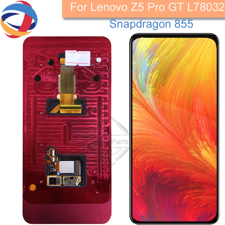 Tested LCD for Lenovo Z5 PRO GT Display Touch Screen Digitizer Panel Replacement for Lenovo Z5