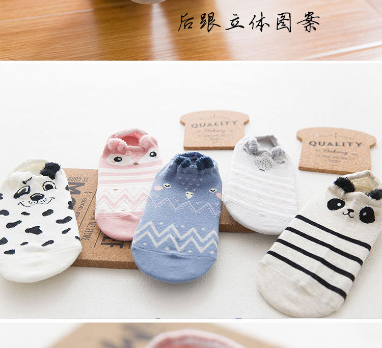 SP&CITY Cute Animal Cotton Socks Female Kawaii Cat With Dog Summer Short Socks Slippers Women Casual Soft Funny Boat Socks HTB1GsB3RpXXXXcIXVXXq6xXFXXXN
