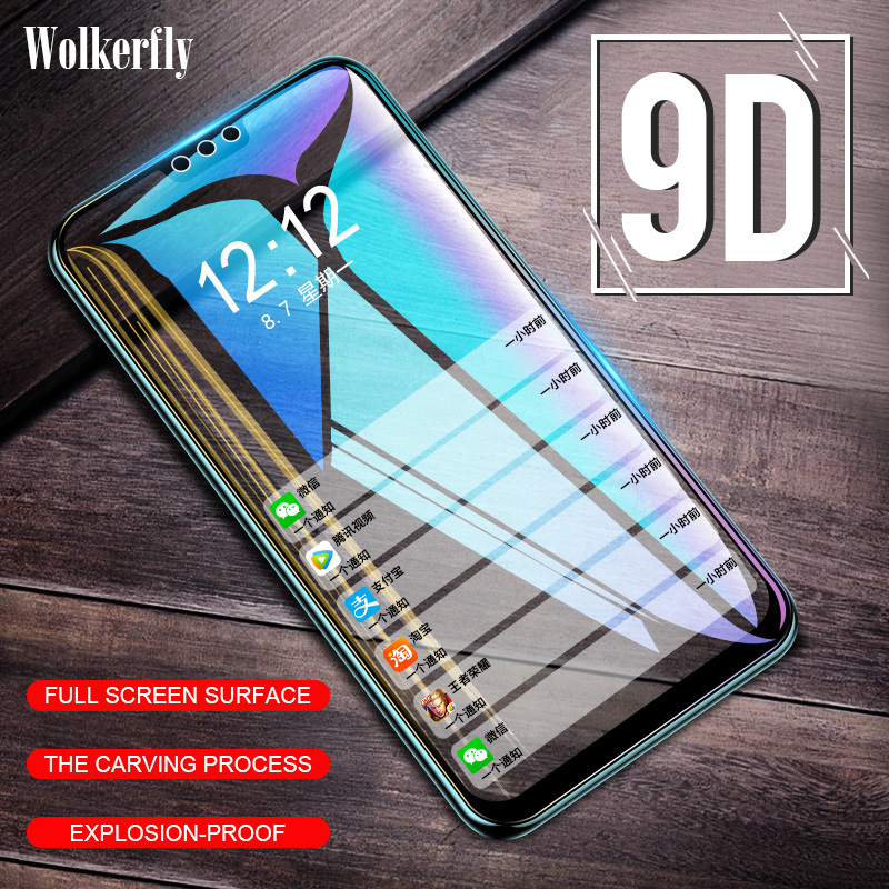 9D Tempered <font><b>Glass</b></font> For <font><b>Huawei</b></font> P30 Lite P20 <font><b>Pro</b></font> Y9 P Smart 2019 Honor 20s <font><b>20</b></font> <font><b>Pro</b></font> 10i 8X Nova 5t Full Cover Screen Protector Film image