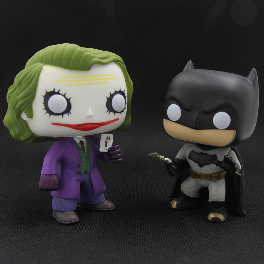 <font><b>FUNKO</b></font> <font><b>POP</b></font> <font><b>DC</b></font> <font><b>Dark</b></font> <font><b>Knight</b></font> JOKER Batman Super <font><b>Hero</b></font> PVC <font><b>Action</b></font> Figure Model Toy with Box