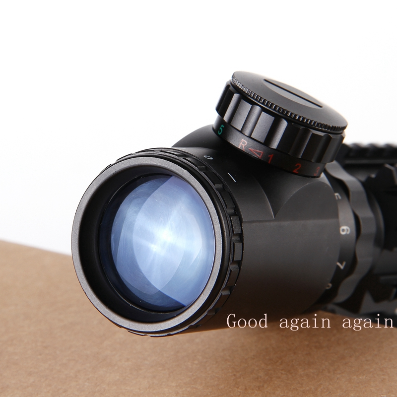 Fusha e pushkës optike 4-12X50 Taktike Optike e Gjelbër e Kuqe - Gjuetia - Foto 5