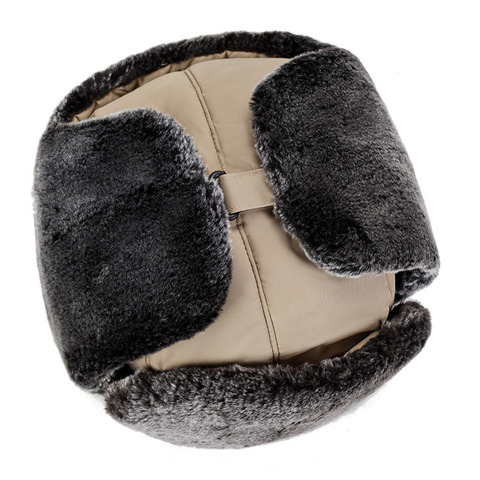 QDKPOTC Winter Cold protection Warm Bomber Hats Men Snow Caps Thicken Unisex Bomber Hat Masks Cap Casual  Bone Hats Islamabad