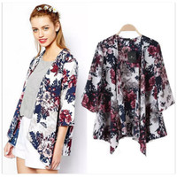 Modern Pregenancy Clothes Kimono Cardigan Long Sleeved Shirt Women Floral Printed Camisas Femininas Manga Longa 2017