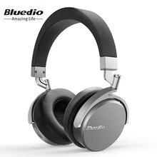 Bluedio Vinyle Prime Sans Fil Bluetooth casque Double 180 degrés de rotation conception sur l'oreille casque