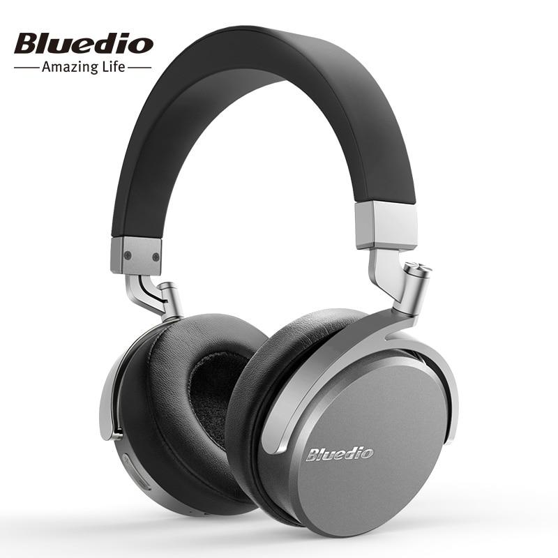 Bluedio Vinyle Prime Sans Fil Bluetooth Casque Double 180 degrés de Rotation Conception Sur L'oreille Casque Avec Microphone