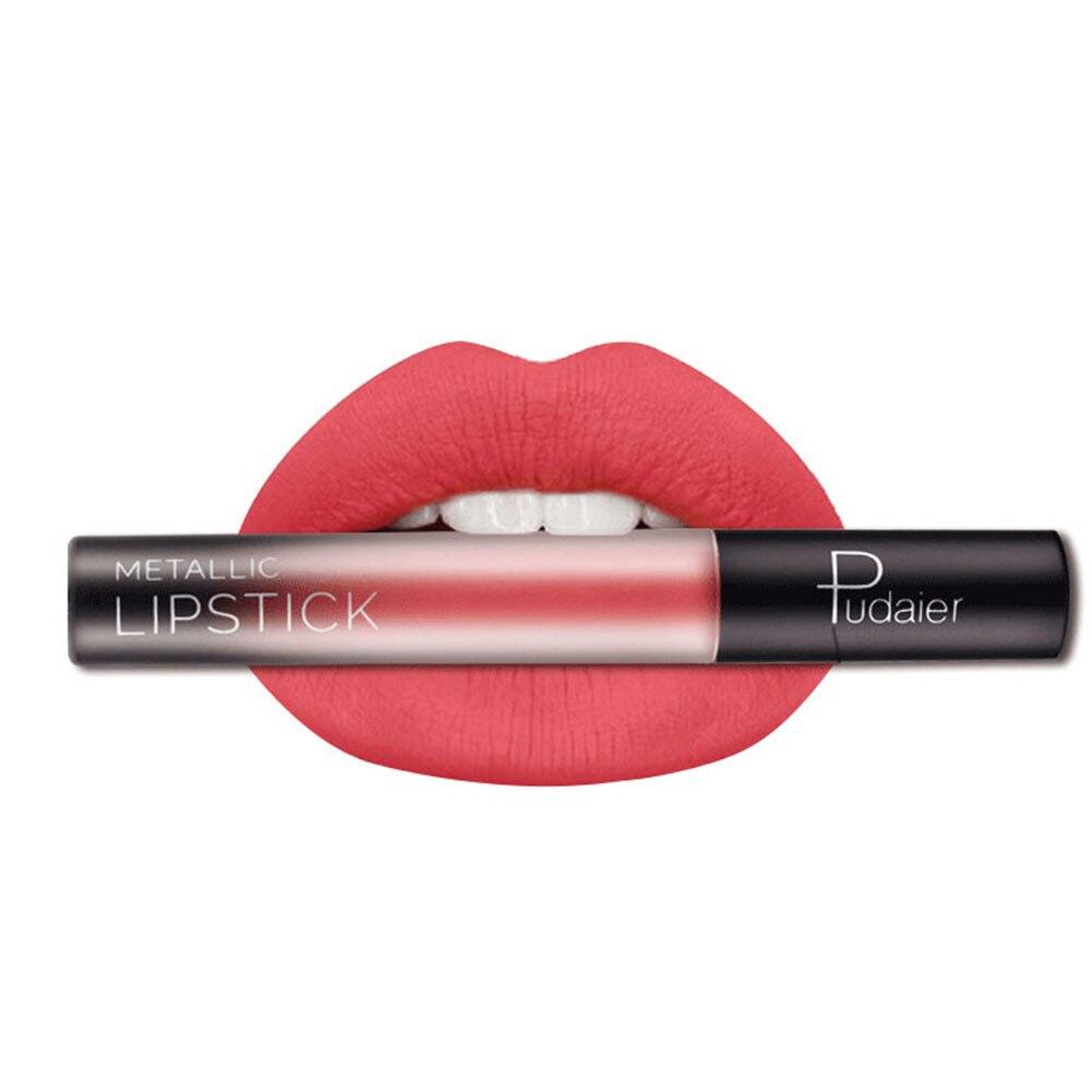 Brand Colors Liquid Lipstick Waterproof Nude Matte Lipstick Velvet Glossy Lips Gloss Lipstick Lip Balm Sexy