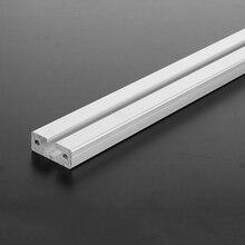 500mm uzunluk 1640 T yuvası alüminyum profiller ekstrüzyon çerçeve CNC