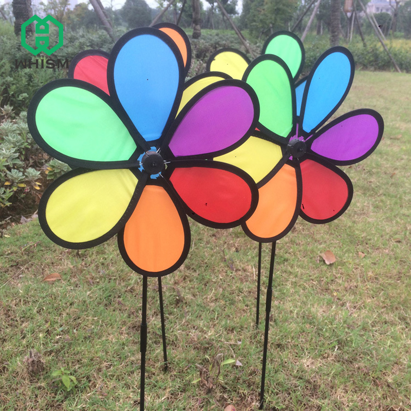 Whism Colorful Rainbow Daisy Flower