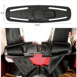 Image 2 - Children baby safety car seat strap belt harness chest clip safe lock buckle Child Toddler Chest Harness Clip 1pcs