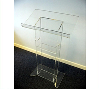Crystal Acrylic Church Pulpit Manufacturer Supplies Perspex Heart Shaped Podium