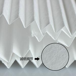 Image 4 - 4 stücke DIY Universelle Filter PM2.5 und Dunst zu Reinigung 1200*290mm HEPA Filter Papier mit Metallklappfilter Luftreiniger Teile