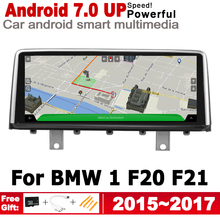 8.8 HD Screen Stereo Android 7.0 up Car GPS Navi Map For BMW 1 F20 F21 2015-2017 NBT Original Style Multimedia Player Auto for bmw 1 series m1 f20 f21 2011 2016 liislee car multimedia gps audio hi fi radio stereo original style for nbt navigation navi