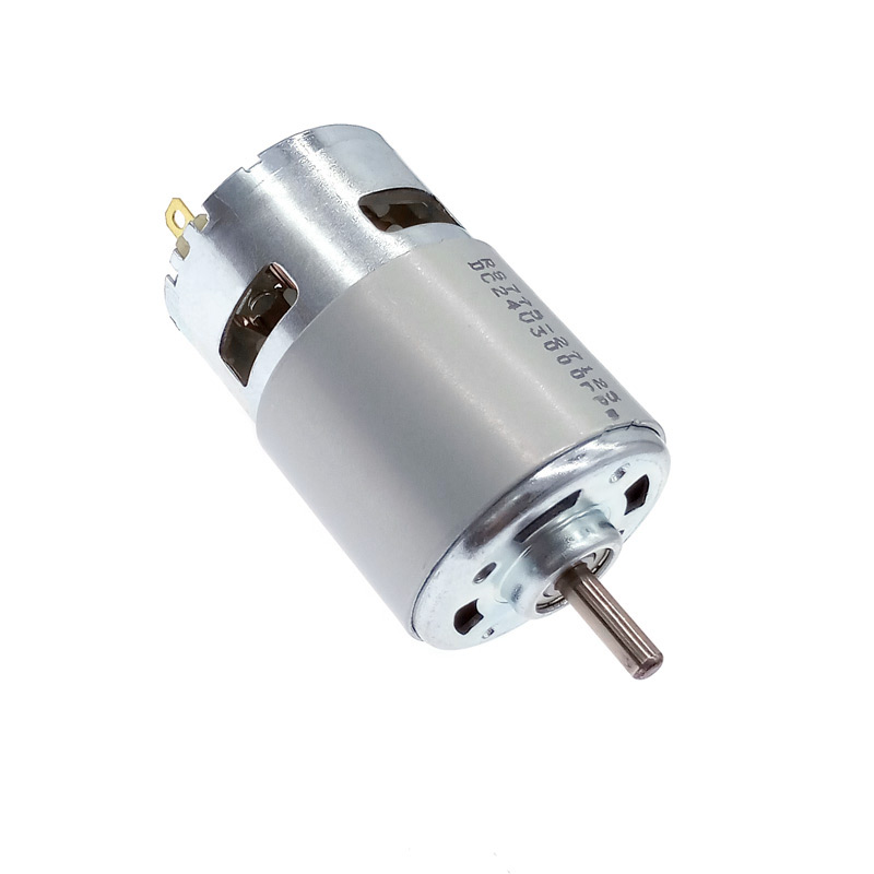 DC 12V Motor 775 24V Double Ball Bearing 3000rpm4500rpm6000rpm8500rpm10000rpm  RS775 Large Torque Low Noise