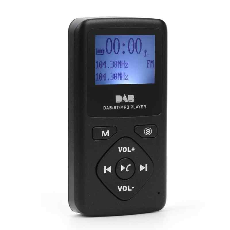 P7 Digitale DAB/DAB +/FM Radio Ontvanger met Bluetooth MP3 Speler Draagbare Lcd-scherm Multimedia Speler