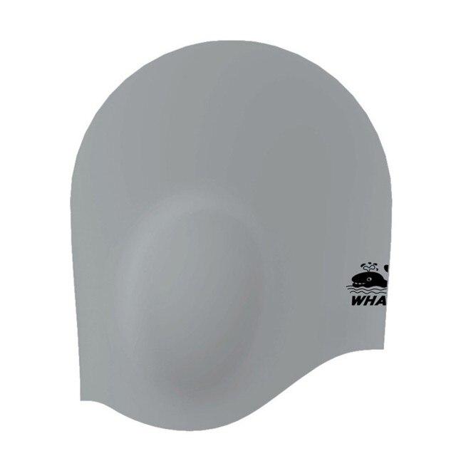 93396840624af Adultos gorros de natación Impermeables badmuts silicona natación sombrero  de hombre y de mujer de colores