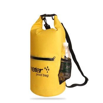 Новый 10L/20L открытый плавательный Водонепроницаемый мешок складной хранения сухой мешок для каноэ каяк Дайвинг рафтинг спортивная сумка ...