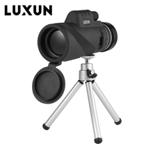 Cheaper LUXUN 40×60 Field Glasses Standard Hand Size Ultra Wide Angle Rotary Goggles Professional HD Powerful Zoom Telescope Handheld