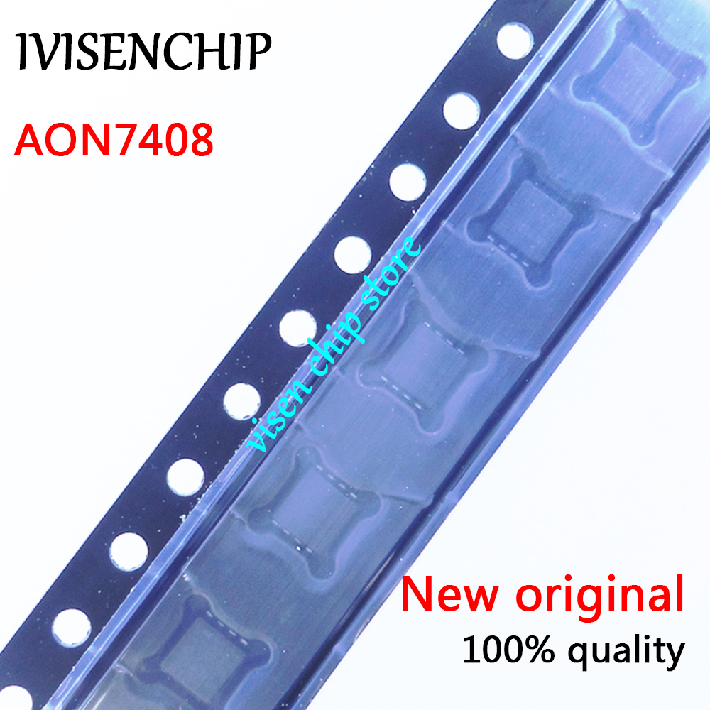 10pcs AON7408 AO7408 7408  MOSFET QFN-8