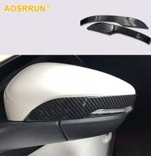 Voor Ford Focus 2019 2020 MK4 Carbon Fiber Achteruitkijkspiegel Cover Auto Accessoires Stijl