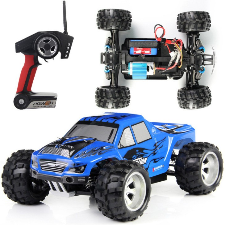 Rc Car Racing Monster A979 1/18 2.4GHz 4WD High Speed Monster Truck Remote Control Car Radio-controlled Cars Remote Control Toys new arrival rc car wltoys a979 1 18 2 4gh 4wd monster with high speed race toy car remote control truck trailer ready to go
