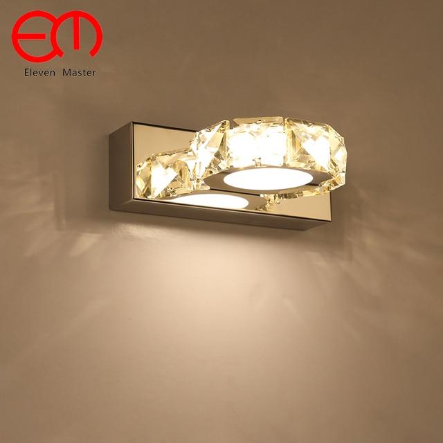 Moderne minimalistischen kristall Badezimmer spiegel lampe kristall ...