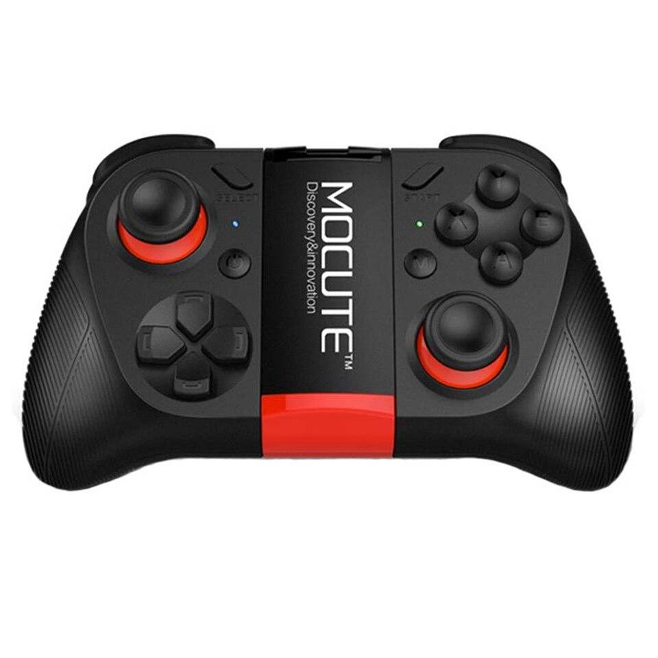 MOCUTE 050 VR Spiel Pad Android Für Joystick Bluetooth Controller Selfie Fernbedienung Auslöser Gamepad für PC Smart Telefon Halter