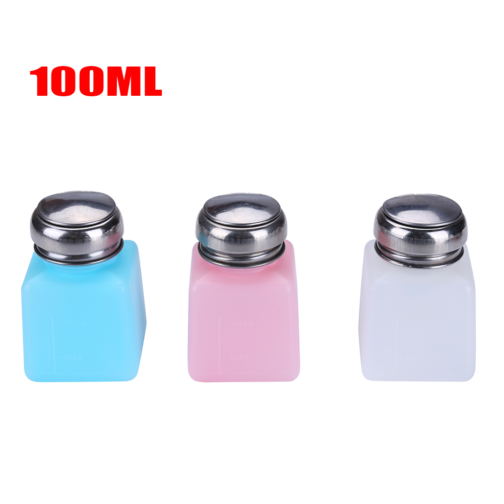 100 200 250ml Liquid Alcohol Bottles Press Pump Dispenser Durable Stainless Steel Cap for Photography Photo Studio Cleaning Tool in Photo Studio Accessories from Consumer Electronics