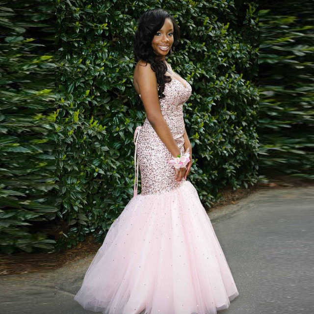 Pink Junior Prom Dress
