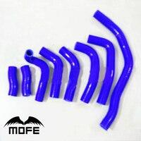 Mofe 8 pcs Azul Sillicone mangueira kit mangueira do radiador Para Toyota MR2 91 99|radiator hose kit -