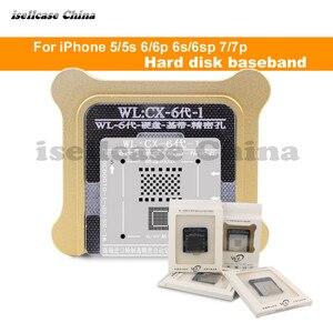 Image 1 - Wozniak WL Best for iphone 5 5s 6 6s 7 8 XS MAX Plus NAND processor BGA reball Tin Net HDD Baseband Stencil Great Repairing Base