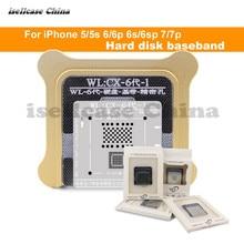 Wozniak WLที่ดีที่สุดสำหรับIphone 5 5s 6 6S 7 8 XS MAX Plus NANDโปรเซสเซอร์BGA ReballดีบุกสุทธิHDD Baseband Stencil Great Repairingฐาน