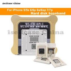Wozniak wl melhor para o iphone 5 5s 6 6s 7 8 xs max mais nand processador bga reball estêncil de banda de base hdd estêncil excelente reparação base