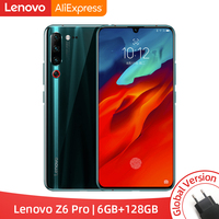 Global Version Lenovo Z6 Pro 6GB/ 8GB 128GB Snapdragon 855 Octa Core Smartphone 6.39 FHD Display Rear 48MP Quad Cameras