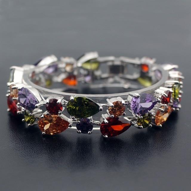 Фото hermosa подарок блестящие женские ювелирные изделия красочные цена
