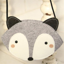 Adorable Girls Fox Fashion Bag Single Shoulder