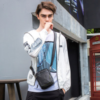 Difenise плоскости дубления Мужская Мода сумки на плечо легко Стиль ручной работы большой Сумки Молния Закрыть протектора мягкий Для мужчин пл
