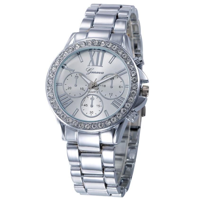 luxury Brand women dress watches diamond bracelet wat