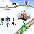 Gekkopod Mini Tripod Mount Portable Flexible Stand/Holder for iPhone Gopro xiaomi yi Sj4000 SJCAM c30 Sports Camera Accessories