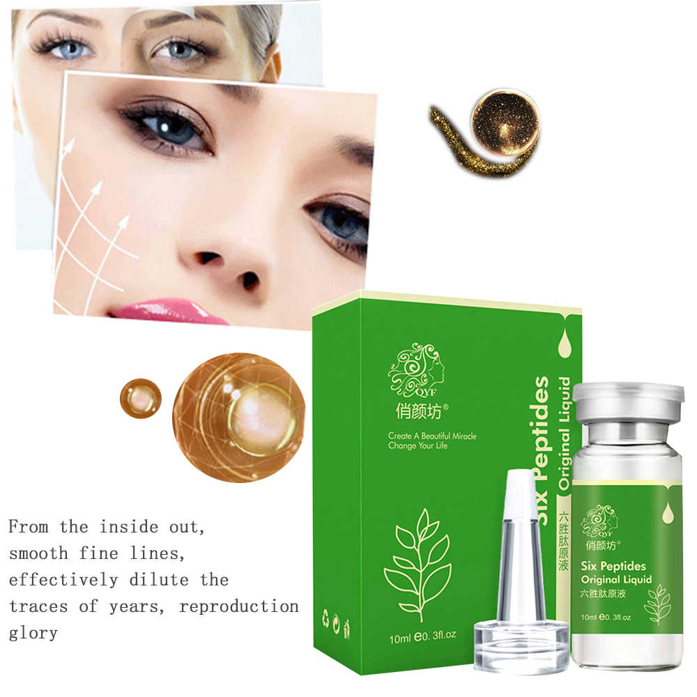 Argireline peptide solution and anti wrinkle anti wrinkle anti-aging remove crow's feet wrinkles 6 peptids
