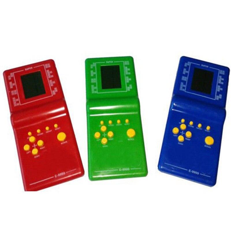 3 Color Infantil Classic Tetris Juego De Mano Lcd Juguetes