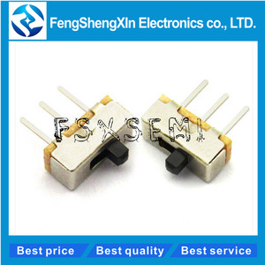 20pcs/lot SS12D00 SS12D00G3 SS12D00G4 SS12D00G5 Interruptor on-off mini Slide Switch 1P2T Long handle: 3mm 4mm 5mm toggle switch(China)