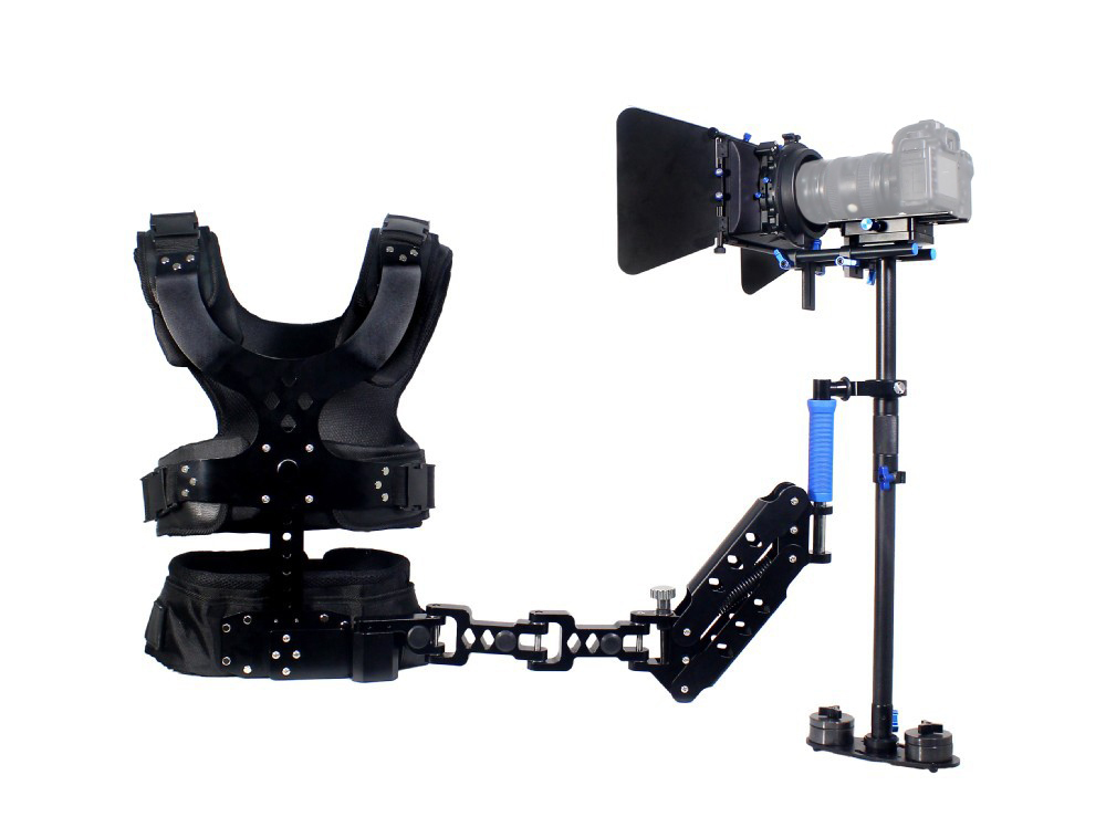1-5KG Magic Carbon Fiber Stabilizer Steadicam Steadycam With Single Arms Load Vest For DSLR DV Camera Video DV camcorder