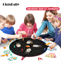 2019 Creative Board Game Toys Family Game Kids Educational hand eye coordination Find Things With Light Children Card Game