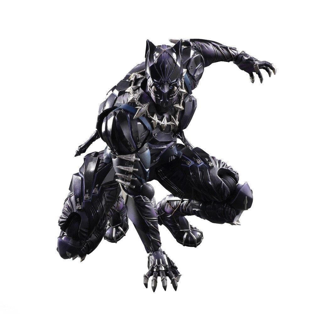 Black Panther Variant Play Arts Action Figure J01 северные морепродукты variant frozen