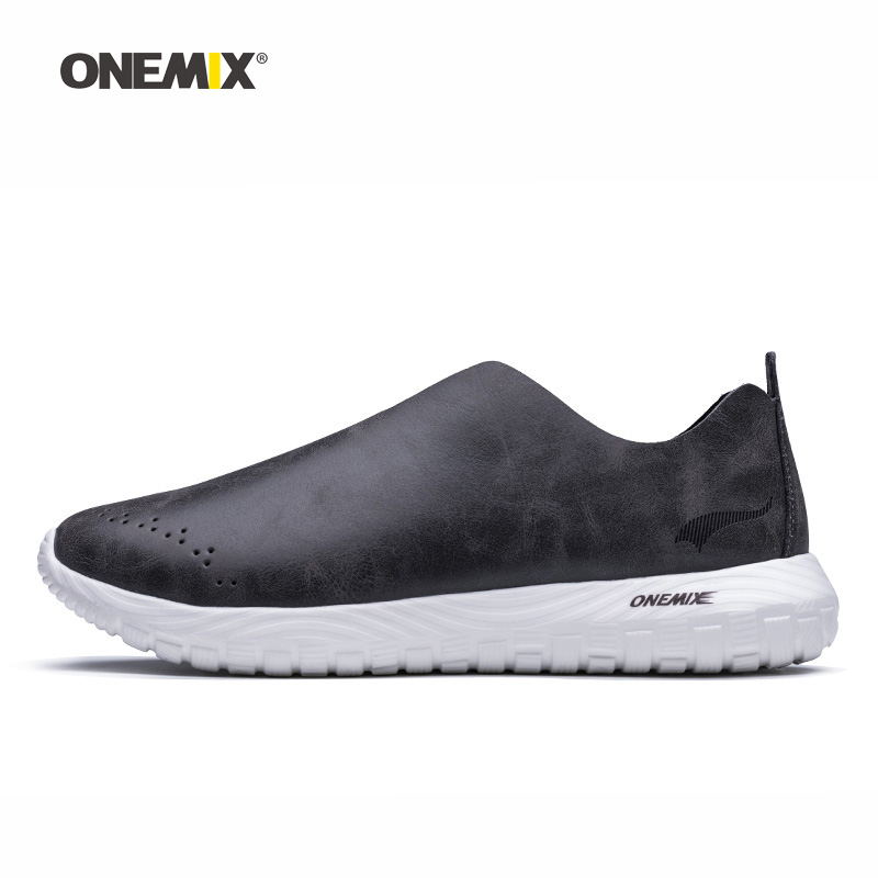 Onemix Man Running Shoes for Men Microfiber Leather Loafers Breathable Designer Jogging Sneakers Outdoor Sport Walking TrainersOnemix Man Running Shoes for Men Microfiber Leather Loafers Breathable Designer Jogging Sneakers Outdoor Sport Walking Trainers