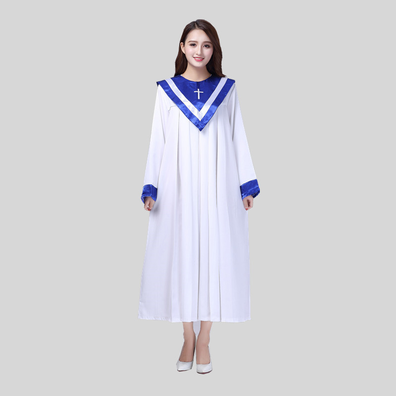 Christian Church Choir Dress Clothing Jesus Class Service Wear Wedding Hymn Holy Garments Nun Costume Christian Sing Robe