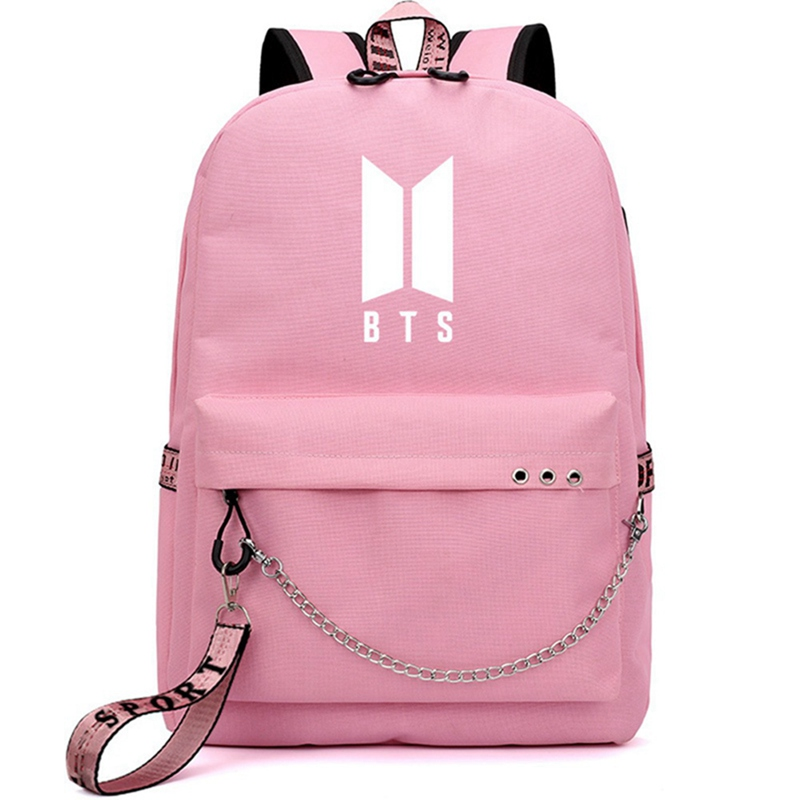Bulletproof Boy Scouts Bts Backpack Bts Printing Backpack Canvas School Bags For Man Women Travel Bags Laptop Backpack