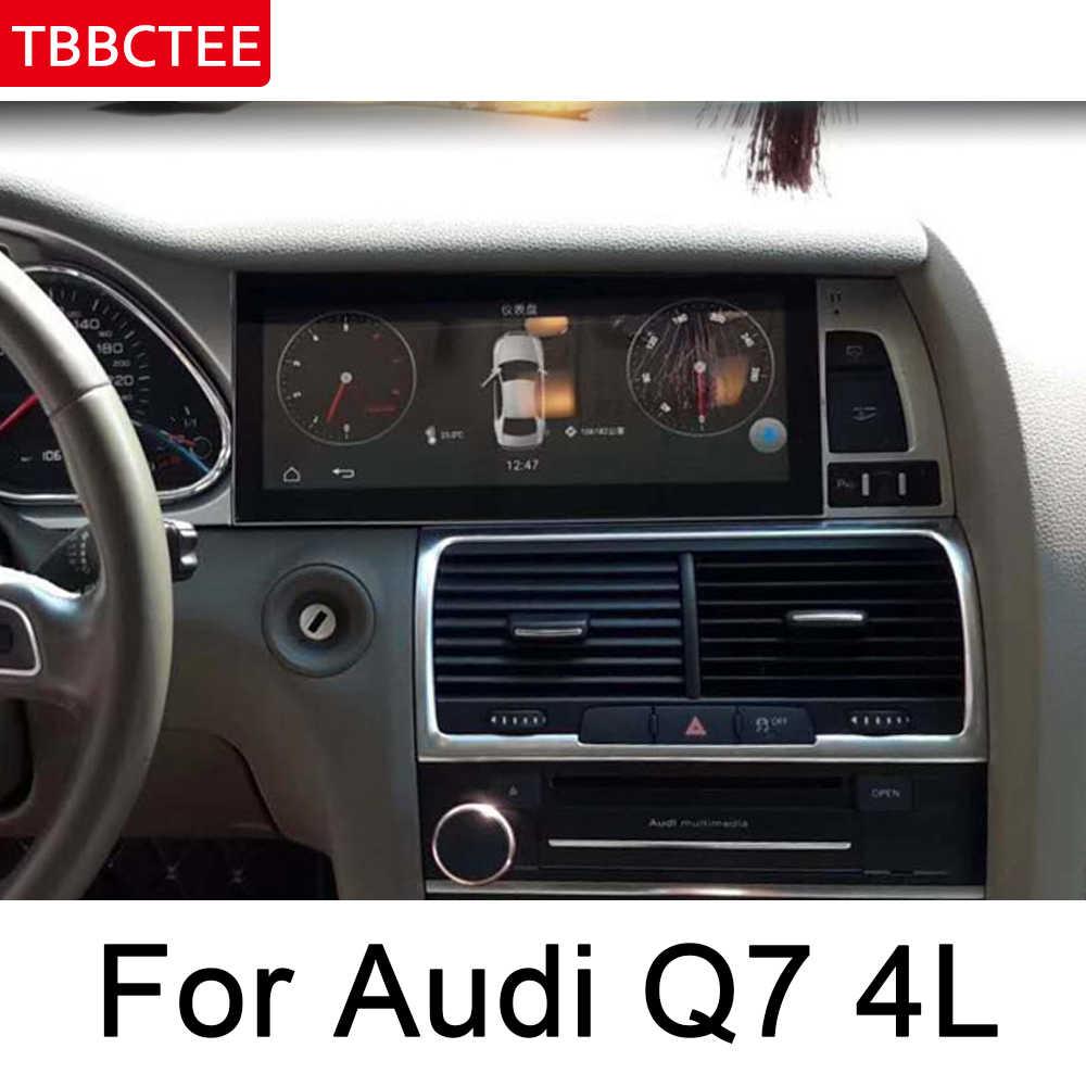 アウディ Q7 4L 2006 〜 2009 MMI Android 車の Gps 、マルチメディアプレーヤー HD スクリーンステレオナビ地図オリジナルスタイルオートラジオ無線 LAN BT