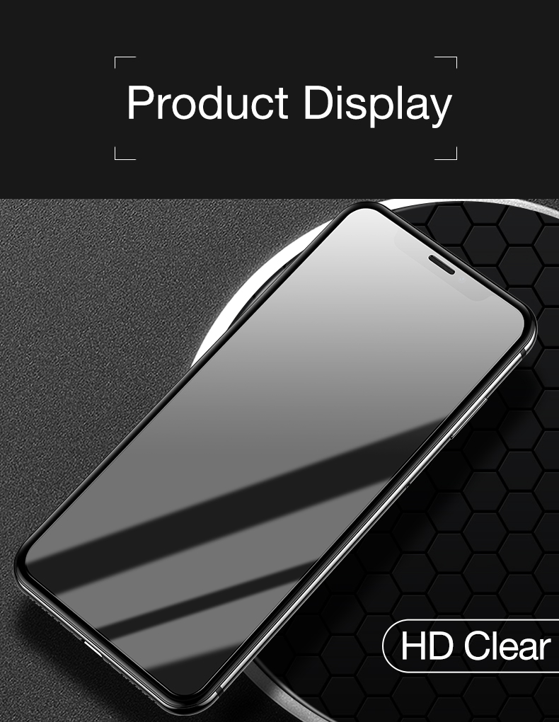 Screen Protector for iPhone x xr xs max 8 7 6  (9)